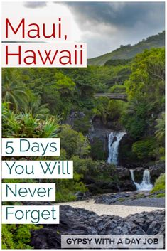 If you want your trip to Hawaii to be a bit more than what you expect, Maui is the island for you.  Our Maui 5 day itinerary includes beaches of every color, the road to Hana, sunrise on Haleakela, and lots of adventure.  We think it is the perfect way to spend 5 days in Maui.  Don't wait!  Start planning your Maui itinerary now!  #hawaii #hawaiitravel #maui #usatravel Budget Travel, Travel Ideas, Travel Inspiration, Travel Tips, Travel Destinations, Vacation Places In Usa, Maui Vacation, Best Places To Travel, Canada Travel