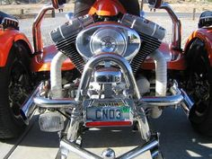 The custom 2004 Harley Davidson Rewaco Trike for sale is an HS6 Model that has had over 50K invested in customized features.    This very clean three wheeler