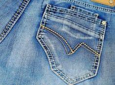 Astuce pour fixer la couleur d'un jean qui déteint