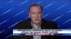 """More white people have been shot by police officers this past year than minorities. More likely that a black police officer will shoot a black person. We don't ever hear that from President Obama or from Loretta Lynch.""  Today, Mike Huckabee stated that leaders have a responsibility to put things in perspective as we fight racism and discrimination."