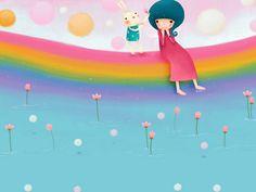 Wallpaper Series of Echi Illustrations (Vol.03)   - Korean Echi Illustration Wallpaper 2