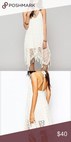 O'Neill beacon dress size xs Brand new with tags!! Off white lace dress. O'Neill Dresses