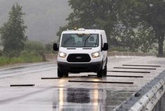Robotic Cars Take the Punch for Ford Test Drivers