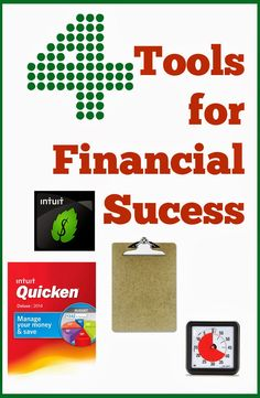 4 simple things I use to help keep our finances on track.  They are all cheaper then a CPA. :)