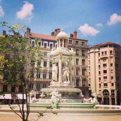 Place des Jacobins, Lyon.