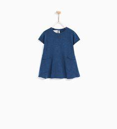 ZARA - KIDS - KNIT DRESS WITH POCKETS