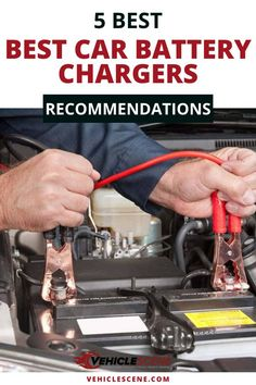 Replacing or charging batteries is an everyday fact of life. So you want the best battery charger for the job. And that's where ourguide steps in. Best Battery Charger, Cool Car Gadgets, Flat Tire, Car Tools, New Trucks, Guide, Car Accessories, Steampunk Diy, Steampunk Necklace