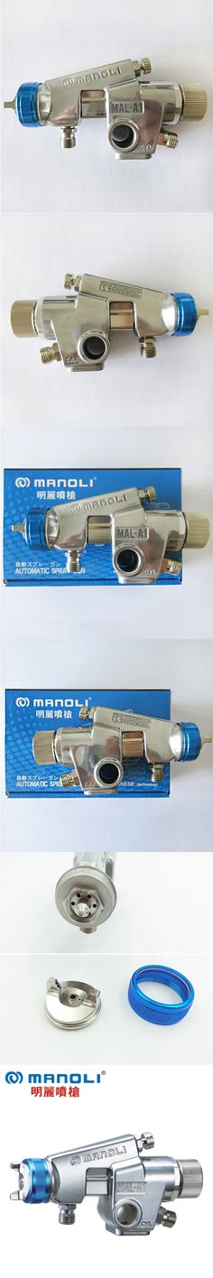 Manoli MAL-A1-P Automatic Spray Gun, 1.0 1.3 1.5mm nozzle size to choose, free shipping