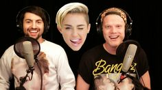 I love love love their Miley Cyrus video. mashup (i guess you would call it)