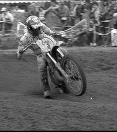 Jean Jacques Bruno - motocross vintage - french rider