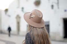 So in love with wide brim hats.