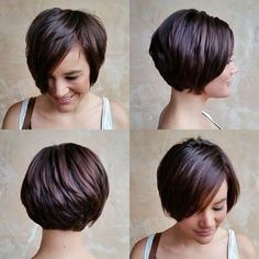 Idées Coupe cheveux Pour Femme 2017 / 2018 Pixie Haircuts With Bangs 40 terribles Tapers