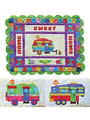 Home Sweet Home (Away from Home) Quilt Pattern  pic only   Need to make   Annie's catalog