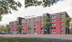 Fürther Hotel Mercure Nürnberg West The Fürther Hotel Mercure Nürnberg West is just a stroll away from Fürth old town. It can be reached quickly on the highway (A73, Poppenreuth exit) or from the main railway stations in Fürth (1.2... #Hotel  #Travel #Backpackers #Accommodation #Budget