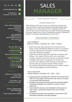 Sales Resume Objective Examples Best Of Sales Manager Resume Sample & Writing Tips Resume Writing Tips, Resume Skills, Resume Tips, Job Resume, Sales Resume Examples, Resume Objective Examples, Resume Design Template, Resume Templates, Good Cv Template