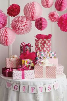 Gift Section of the Party