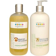 Nature's Baby All Natural Organic Coconut Pineapple Baby Shampoo
