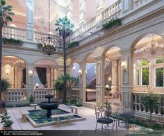 Enhance Your Senses With Luxury Home Decor Luxury Home Decor, Luxury Interior, Home Interior Design, Interior Architecture, Classical Architecture, Villa Design, Dream Home Design, My Dream Home, Arquitectura Wallpaper