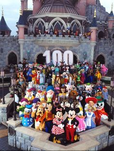 Disneyland Paris celebrating what would have been Walt's 100th birthday