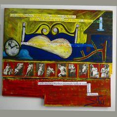 10 mujeres de Neruda, el poema 1 y mi cama,#pintura,#painting ,#malerei ,#10,#mujeres ,#pabloneruda ,#poema1 ,#cama ,#art,#arte,#kunst ,#kunstwerk ,#artcontemporain ,#artecontemporaneo ,#chilenischekunstler ,#kunstler ,#passau ,#badgriesbach ,#kussbadgriesbach ,#soto ,#ichbinsoto ,www.d-soto.com,#niederbayern,#artistachileno
