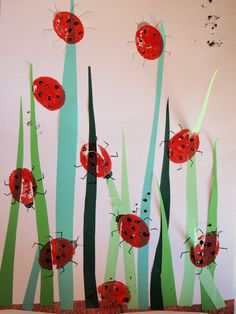 Pre School, Preschool Activities, Bookmarks, Montessori, Spring, Kids, Animals, Lily Of The Valley, Insects