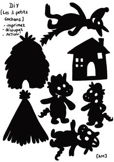 Atelier Theme, Diy For Kids, Crafts For Kids, Recycled Toys, Hand Shadows, Shadow Theatre, Free Frames, Maila, Kindergarten Math Worksheets