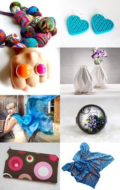 Beautiful Blue (And Friends...) by Michal and David Friedmann on Etsy--Pinned with TreasuryPin.com