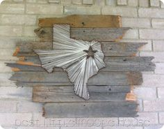 Texas sign for outdoors