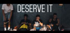 Poundgame Addison x Tony J x Rocky'Jay bring to us the visuals for 'Deserve It': Young Bulls From Missouri. We've Been Brothers For Years And All Share The Love For Music.