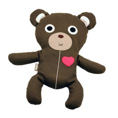 Herbal Therapy Bear Dark Brown, $15.50, now featured on Fab. [Karma Kiss]