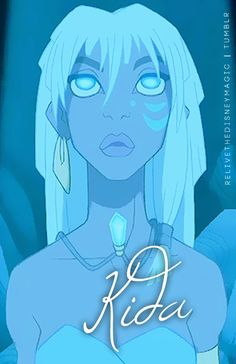 Kida - Kidagakash - has the coolest Disney name. Yup. Definitely. I can't even PRONOUNCE it, let alone SPELL it!!!! (i had to Google it XD)