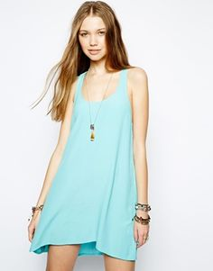 Image 1 ofKiss The Sky Pretty Perfect Crochet Back Swing Dress