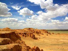Le désert du Gobi, en Mongolie