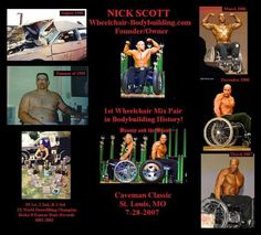 Wheelchair Bodybuilder - Nick Scott // So.. what's your excuse ?!