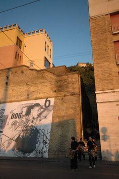 Opening Wk Interact, istallazione poster art