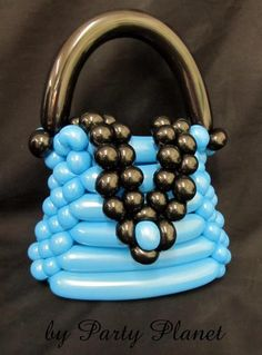 Balloon handbag