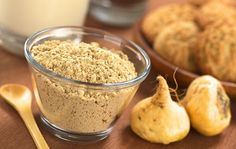 Maca, such an amazing superfood.  So rich, great source of b vitamins, iron, boost sexual libido and energy levels and balances hormones.  Plus it doesn't taste bad.