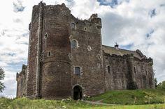 Schottland Reise Doune Castle