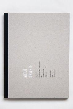 Melografie – Ein Buch zum typografischen Experiment der Visualisierung von Melodien