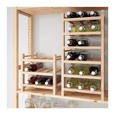 HUTTEN 9-bottle wine rack  - IKEA