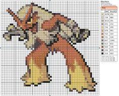 Pokemon - Blaziken by Makibird-Stitching