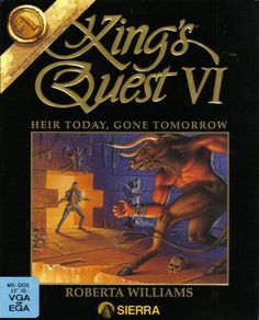 King's Quest VI was the best of the series.  Circa 1992.  I think you needed 5 or 6 disks to install this guy...
