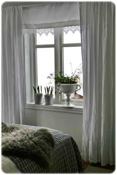 sew lace @ bottom of roll-down shades White Light, House Rooms, Curtains, Dreamy Bedrooms, White Rooms, Beautiful Bedrooms, French Style Bedroom, Beautiful Curtains, House Interior Decor
