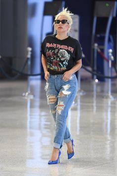 """Unlike the rest of the posers on this list, Iron Maiden has actually acknowledged Lady Gaga's existence. Bruce Dickinson revealed he was a fan of the pop star after she told CR Fashion Book that she'd rather be compared to Maiden than Madonna. """"I think she's great, and I agree with her,"""" the frontman told Corus Radio. """"She's not the next Madonna. She's way better than that."""""""