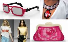 Realmente Belas: Pixel fashion
