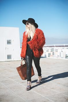 Get this look: http://lb.nu/look/7917726  More looks by Inês M: http://lb.nu/imm  Items in this look:  Missguided Coat, Missguided Hat, Asos Shoes, Salsa Bag   #bohemian #casual #chic
