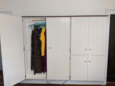 ClosetBoom , an explosion of new closet space - New Ideas Wardrobe Storage, Clothing Storage, Closet Storage, Bedroom Storage, Closet Organization, Pax Wardrobe, Wardrobe Furniture, Wardrobe Design Bedroom, Closet Bedroom