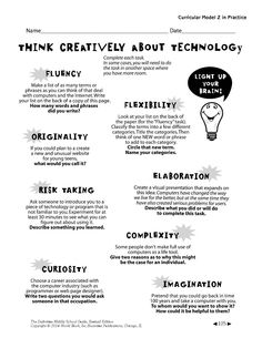 Happy Friday! Light your brain by thinking creatively about technology. Here's how  #Teachers #Teaching #Learning