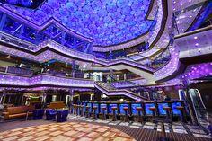 Atria Eiliodor atrium on Costa Diadema (Costa Cruises)