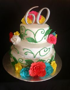 Mexican cake ~60th birthday cake~